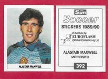 Motherwell Alastair Maxwell 392